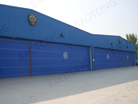 Built for Helicopter Hangar Door Project at Beijing Shahe Airport